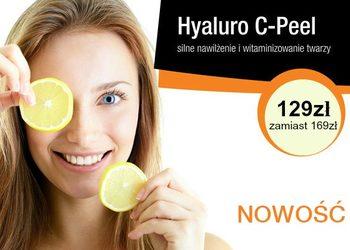 YASUMI Instytut Zdrowia i Urody - hyaluro c-peel - silne nawilżenie i witaminizowanie skóry