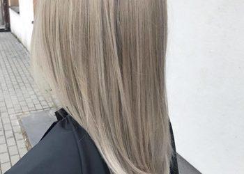 Salon Dorota Tyllak - rozjaśnianie odrostów z tonowaniem włosów