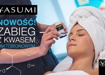 YASUMI Instytut Zdrowia i Urody - kwas laktobionowy - twarz