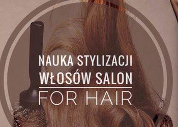 Salon fryzjerski For Hair - indywidualna nauka stylizacji włosów.