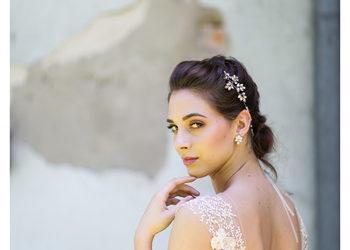 Babski Warsztat - makijaż ślubny wykonany w bw