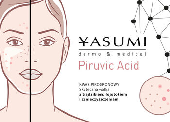 Yasumi Polkowice - piruvic acid peel - kwas pirogronowy 40%