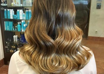 For Hair Hotel Radisson  - koloryzacja całych włosów.
