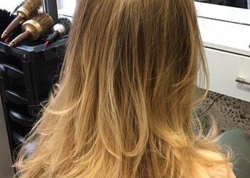 """Salon fryzjerski """"A.Fryga"""" - pół-długie-kolor"""