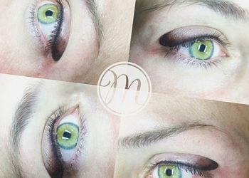 Eyeliner fum