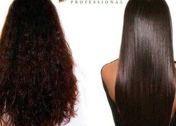 Salon Fryzjerski CLAIR DE LUNE - keratynowe prostowanie - włosy średnie