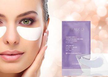QUISKIN Beauty Clinic - hyaluronic eye pads - nawilżenie i wygładzenie zmarszczek pod oczami