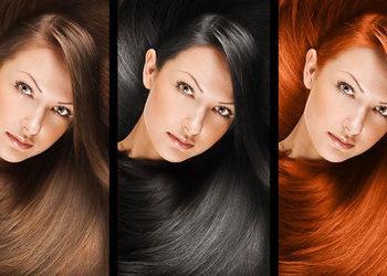 Salon Fryzjerski CLAIR DE LUNE - dekoloryzacja+koloryzacja - włosy średnie