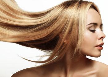 Salon Fryzjerski CLAIR DE LUNE - koloryzacja klasyczna - włosy średnie ( kolor na całej długości )