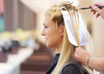 Salon Fryzjerski CLAIR DE LUNE - pasemka-baleyage - włosy średnie