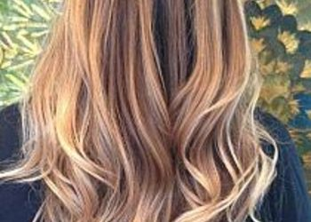 Salon Fryzjerski CLAIR DE LUNE - sombre - włosy długie ( kolor na podstawie + pojaśnienie )