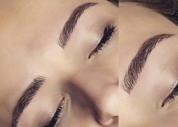 Zakątek Piękna - makijaż permanentny brwi metoda włoskowa