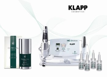 Salon kosmetyczny Och Beauty - mezoterapia bezigłowa klapp cosmetics - clinical care - skinshooter - even light