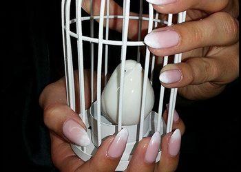 Hair and Beauty ETHERIA - paznokcie żelowe - przedłużanie plus hybryda bez zdobień