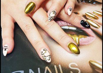 Hair and Beauty ETHERIA - paznokcie żelowe bez przedłużania maxi wzory