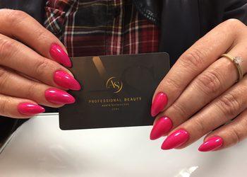 Studio Paznokcia AS Professional Beauty - przedłużanie paznokci żelem + lakier
