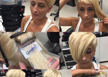 Fryzjerstwo Weronika Weselak - przedłużanie włosów metodą ultradźwiękową