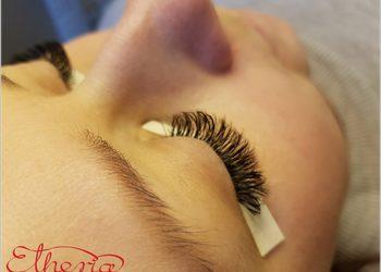 Hair and Beauty ETHERIA - przedłużanie rzęs metodą objętościową - uzupełnianie włosie norki