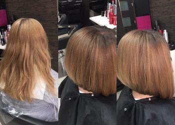 Fryzjerstwo Weronika Weselak - strzyżenie damskie włosy długie