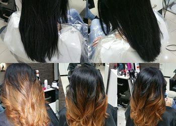 Fryzjerstwo Weronika Weselak - ombre hair