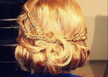 Hair and Beauty ETHERIA - upięcie okolicznościowe