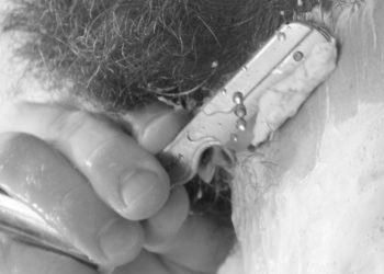 Fabryka Diamentów - kontur brzytwą