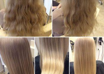 Salon mediSpa - polerowanie włosów - innowacyjna metoda pozwala pozbyć się zniszczonych włosów, zachowując ich długość.
