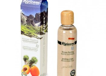 Centrum Kosmetyki DEVORA - organiczny peeling do ciała brzoskwinia & sosna