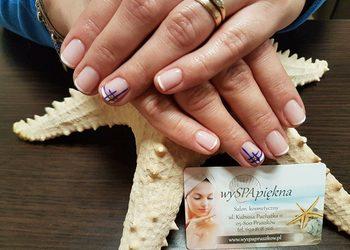 Wyspa Piękna - manicure hybrydowy french