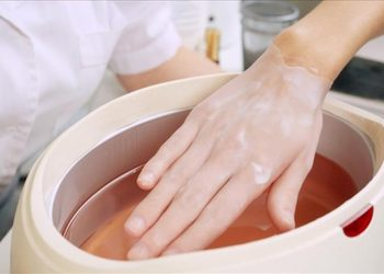 Wyspa Piękna - parafina z peelingiem na dłonie (samodzielny zabieg)