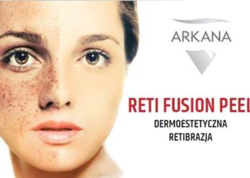 Studio Kosmetyczne URODOMANIA - reti fusion dermoestetyczna retibrazja - zabieg odmładzający i korygujący niedoskonałości