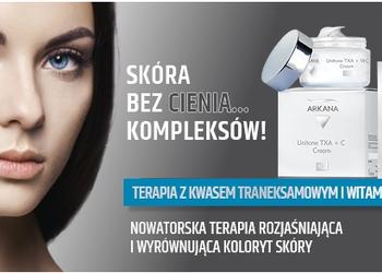 Studio Kosmetyczne URODOMANIA - unitone therapy - terapia wyrównująca koloryt i rozjaśniająca przebarwienia z kwasem traneksamowym i witaminą c