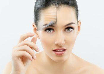 Studio Kosmetyczne URODOMANIA - karboksyterapia - zmniejszenie głębokości zmarszczek na czole