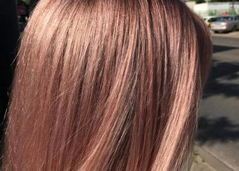 Salon Dorota Tyllak - koloryzacja żelowa organic pure care odrosty z odświeżeniem koloru