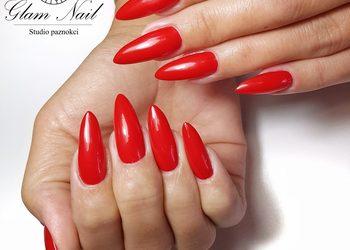 Glam Nail - przedłużanie paznokci + hybryda kolor