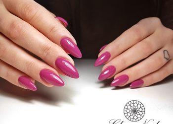 Glam Nail - uzupełnienie żelu + hybryda kolor