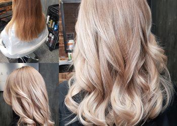 Magia Blondu Danuta Cyboroń - koloryzacja ombre, sombre,flamboyage,cięcie , modelowanie