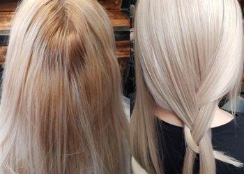 Magia Blondu Danuta Cyboroń - dekoloryzacja+tonowanie+cięcie+modelowanie