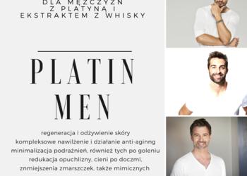 Studio Kosmetyczne URODOMANIA - eksluzywny zabieg dla mężczyzn z platyną i ekstraktem whisky platin men