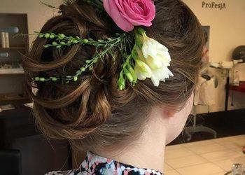 Studio Urody Profesja - fryzura wieczorowa włosy długie