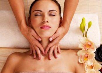 Fabryka Urody - masaż + serum + maska algowa (twarz, szyja, dekolt)
