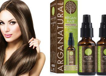 Tiffany's Secret - 4+1 gratis regeneracja włosów macadamia z modelowaniem