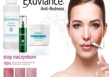 loveSKIN clinic - zabieg na twarz exuviance anti-redness - stop naczynkom