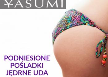 YASUMI Łódź Centrum - pakiet liftingujący - działający także antycelluitowo (uda lub brzuch i pośladki)
