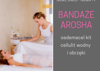 Studio Kosmetyczne URODOMANIA - arosha - oedemacel kit cellulit wodny i obrzęki
