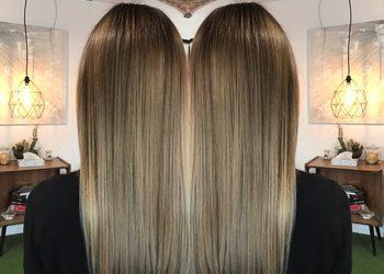 DIUK Atelier - dekoloryzacja włosów farbowanych / decolorization of dyed hair