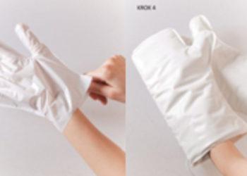Studio Urody Kadami - luksus dla dłoni  zabieg z rękawicami elektrycznymi