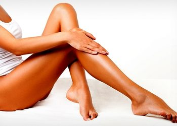 Tiffany's Secret - opalanie natryskowe sunspa nogi