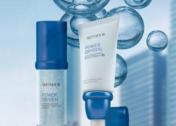 Salon Piękności Bellissima - skeyndor power oxygen zabieg dotleniający dla skóry pozbawionej blasku z sonoforezą