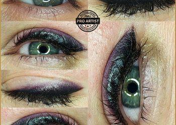 Monika Sekulska Permanent Makeup - eyeliner cieniowany smokey eyes